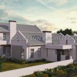 Cape architecture gable design