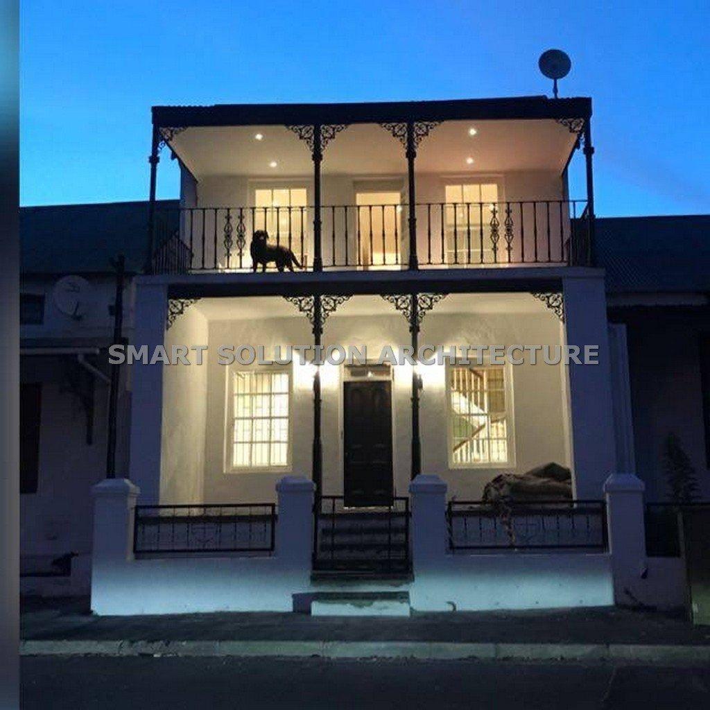 restored night view