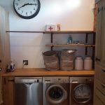 white oak cupboards