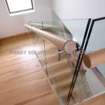 engineered design timber stair case