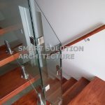 detailed glass balustrades