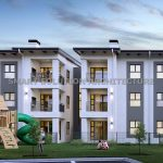 View of apartment block