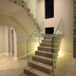 modern stair frameless